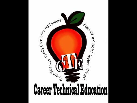 Career & Technical Education logo.