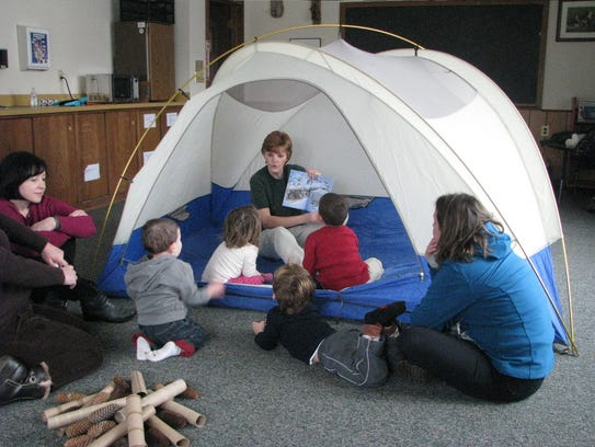 Story Hour will be presented from 10:30 to 11:30 a.m.