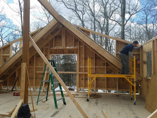 Jennifer Buck is building a two-story, 2,000-square-foot