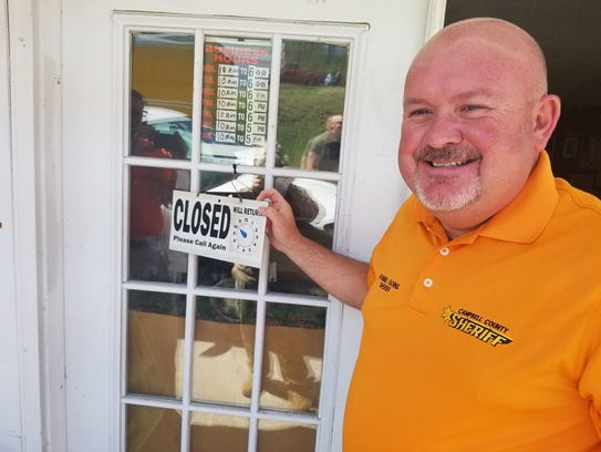 """Campbell County Sheriff Robbie Goins announced a """"Pop"""