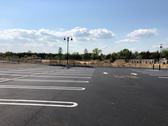 The site of an Aldi supermarket at Wall Promenade on