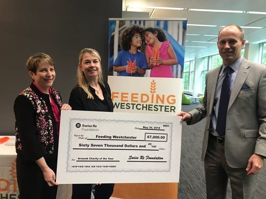 Feeding Westchester recently received a $67,000 donation