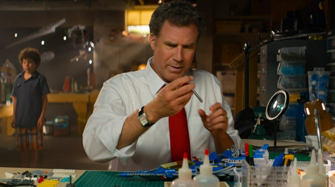 """Will Ferrell stars in the surprise live-action sequence in """"The Lego Movie."""""""