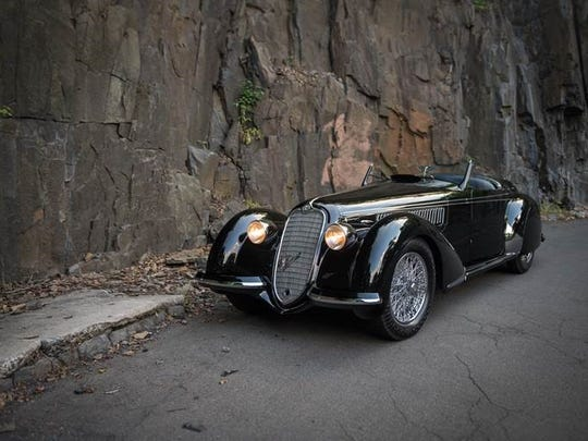 """Noted collector Sam Mann will offer his 1939 Alfa Romeo 8C 2900B for sale at RMSotheby's Collector Car Auction. Organizers state this is the first """"Alfa 2.9"""" to be offered for sale this century, and is likely to reel in 8 figure bids."""