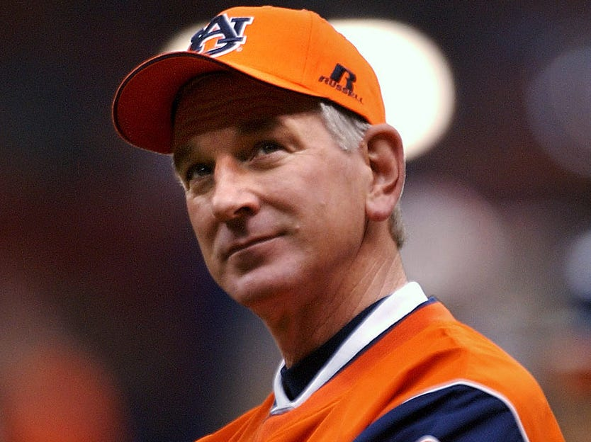 Former Auburn coach Tommy Tuberville will be on the Plains to be recognized with his 2004 team on Saturday.