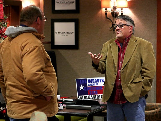 Former Wichitan aims for Texas governorship