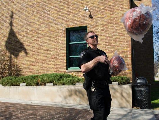 Officer Dan Deeg, Evansville Police's School Resource