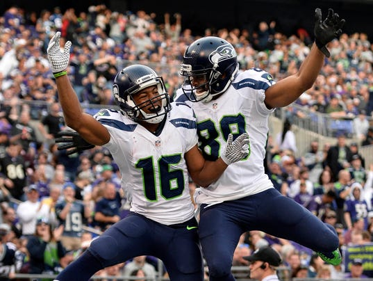 USP NFL: SEATTLE SEAHAWKS AT BALTIMORE RAVENS S FBN USA MD