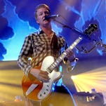 Queens of the Stone Age performs  during The 24th Annual KROQ Almost Acoustic Christmas  in Los Angeles.