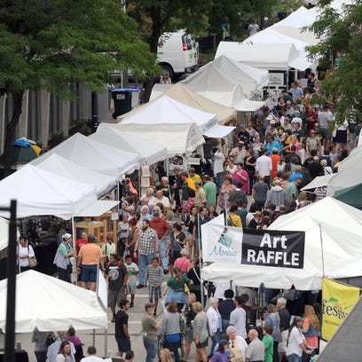 More than 75,000 people are expected to visit Artstreet