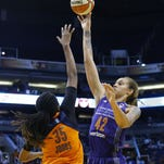 Brittney Griner continues hot streak, Mercury beat Sun