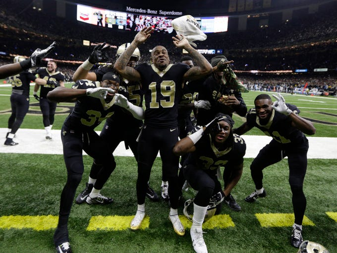 New Orleans Saints wide receiver Ted Ginn (19) and