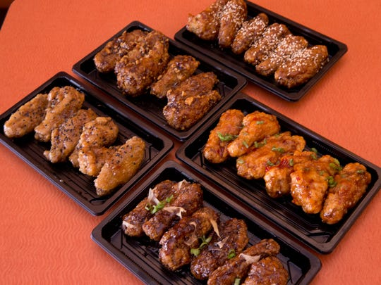 At Kazia's Asian Grab 'n Go in Hazlet, wings are available in such flavors as teriyaki, nutty wing, honey garlic, soy ginger, and sweet and spicy.