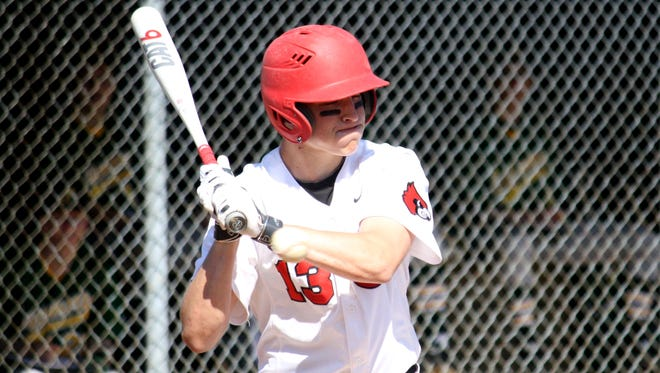 Cory Heffron was able to be a throw to first base in the top of the ninth inning, allowing the winning run to score in Colerain's 3-2 win over Oak Hills.