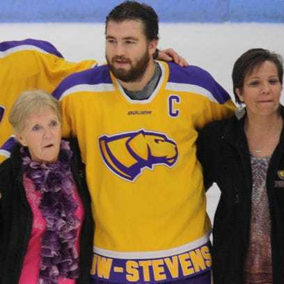 Cancer benefit hits home for UWSP hockey player
