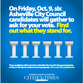Join the Citizen-Times Friday, Oct. 9 for the first Asheville City Council candidates debate.