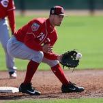 Reds notebook: Nick Senzel makes start at shortstop; Brandon Dixon hits 1st home run