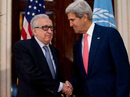 Brahimi and Kerry