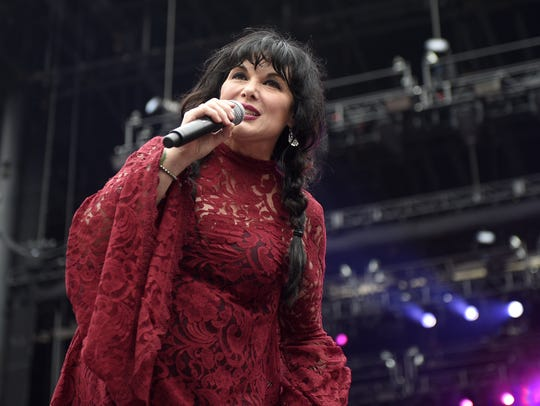 Ann Wilson, who performs June 11 at The Sunrise Theatre,