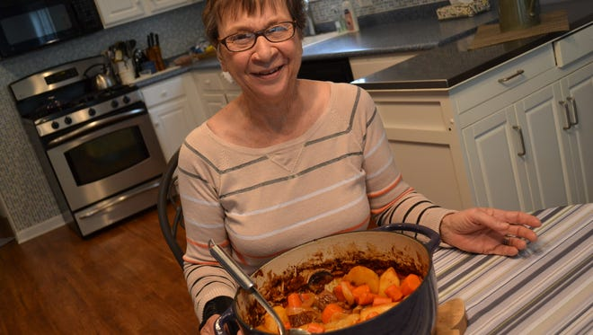 Barb Davis has made Cider Stew every fall for at least 30 years.