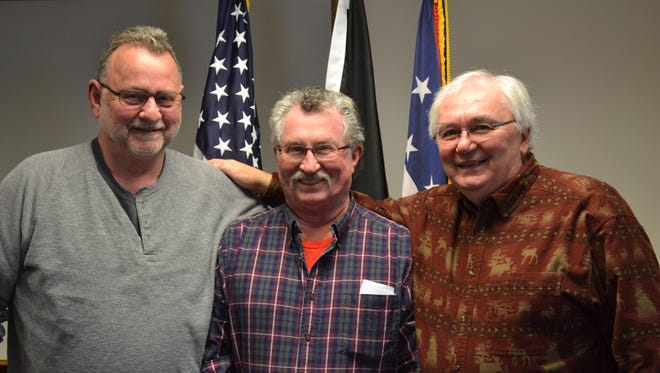 From left, Gene Bihn, Ernie Hopkins and Ken Monnin helped plan the Vietnam Veterans Commemoration Day in 2017. The fifth annual tribute comes to Ottawa County this week with events from Wednesday through Sunday.