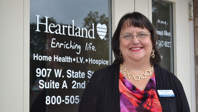 The Rev. Cheri Holdridge is the new Spiritual Care Coordinator, or house chaplain at Heartland Hospice in Fremont.