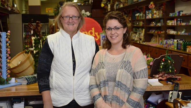 Teresa Gross and Stormy White worked at the former Pills 'N' Packages in Elmore. When the shop closed, they opened Elmore General Store to fill the void in the small village.