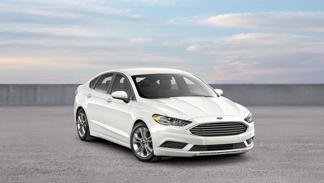 These are some of the most common options if you rent a full-size car at a U.S. airport location: 2018 Ford Fusion.
