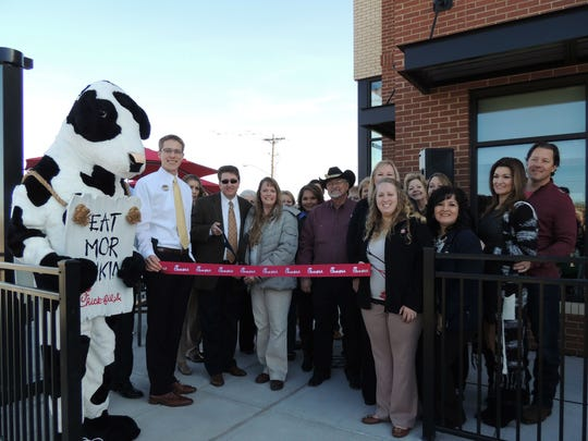The San Angelo Chamber of Commerce, Concho Cadre and Mayor Dwaine Morrison welcomed the newest Chick-fil-A to San Angelo at 1609 Knickerbocker Rd.