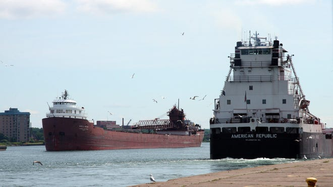 Legislation signed by President Donald Trump on Tuesday allows Great Lakes states to establish more stringent standards for ballast-water discharges for vessels traveling the five lakes.