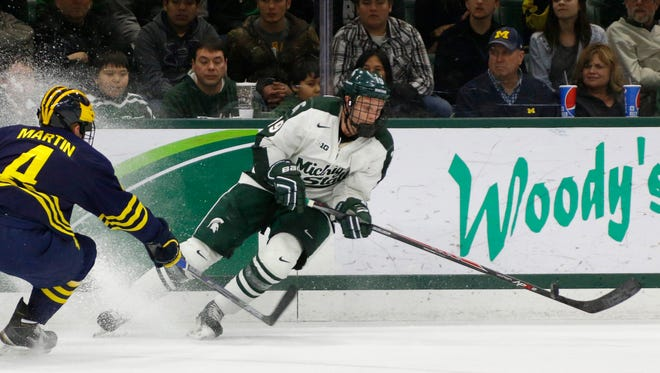 Michigan State's Matt DeBlouw