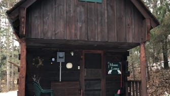 Moose Lodge was the first cabin that Ole Knutson built on his dairy farm outside Sparta.