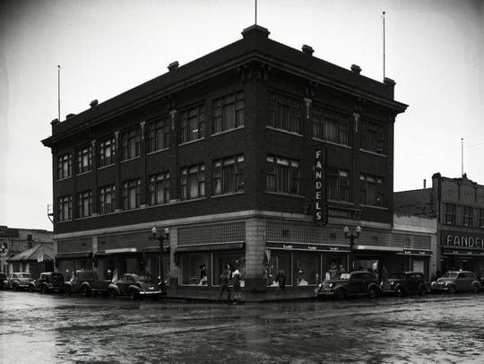 Fandel's Department Store at Sixth Avenue and St. Germain