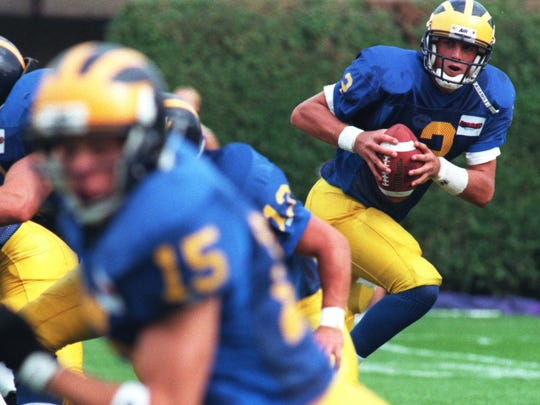 Sept. 22, 1997: QB Matt Nagy took over for the injured Brian Ginn during the Blue Hen's victory against West Chester.