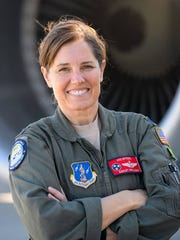 Tennessee Air National Guard Lt. Col. Ashley Nickloes