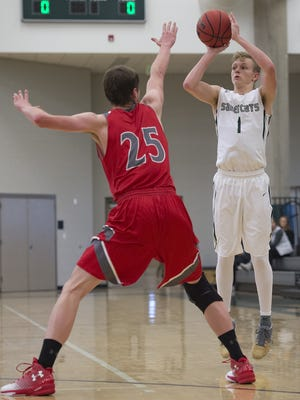 Fossil Ridge's Braxton Bertolette is leading Class 5A in scoring and moving up Colorado's record books for 3-pointers in a season.