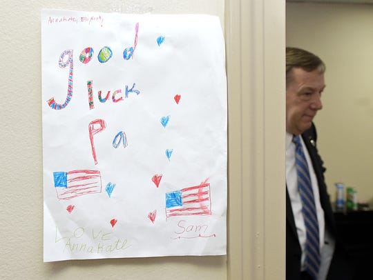 State Rep. Sam Whitson posted this drawing by his grandchildren