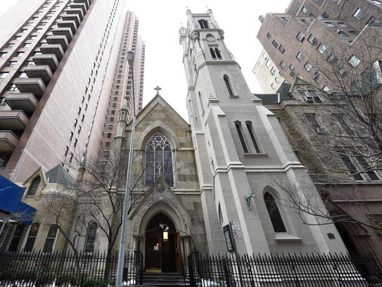 Jacqueline Kennedy Onassis worshiped at St. Thomas
