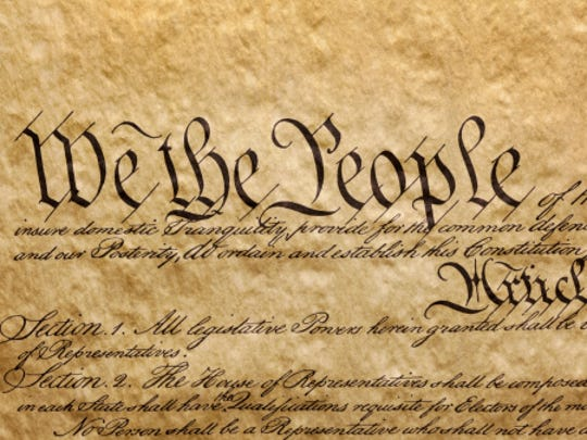 A survey shows 33 percent of Americans don't know the 5 rights in the First Amendment.
