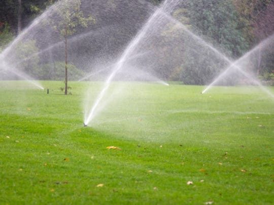 Reclaimed water is used for irrigating golf courses and other landscaping.