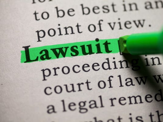 Lawsuit Stock Image