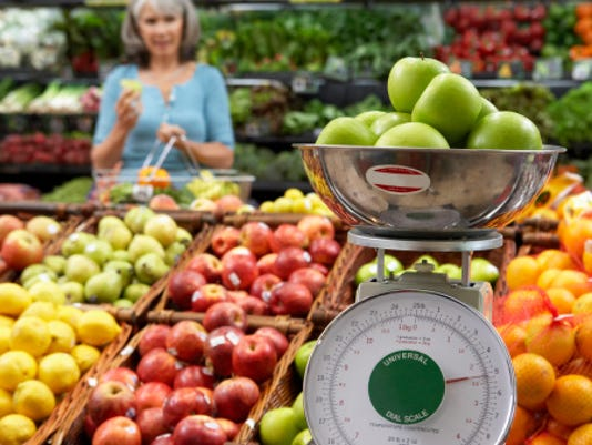 Fruit in store Stock Image