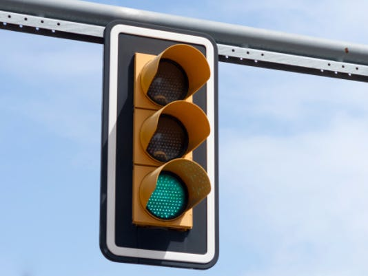 Traffic light Stock image