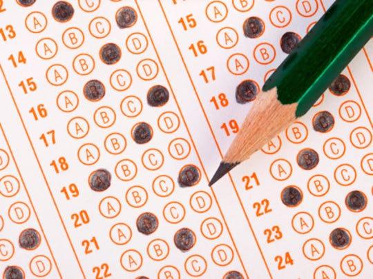 Standardized testing bubblesheet