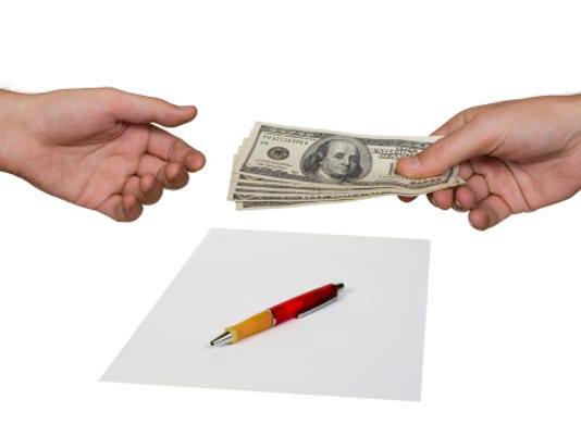 Money and contract