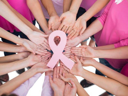 Stock Image Breast Cancer Awareness Month