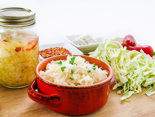 Naturally fermented foods such as sauerkraut are delicious
