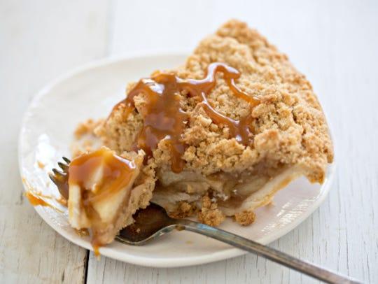 Dutch Apple Pie And Caramel