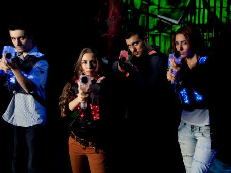 Enjoy a FREE Game of Laser Tag with the purchase of a Game of Laser Tag at the regular price.