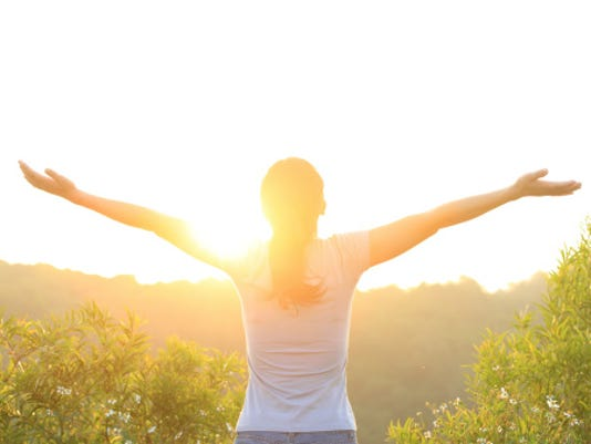 Spending time in the bright morning light may help you slim down, new research suggests.